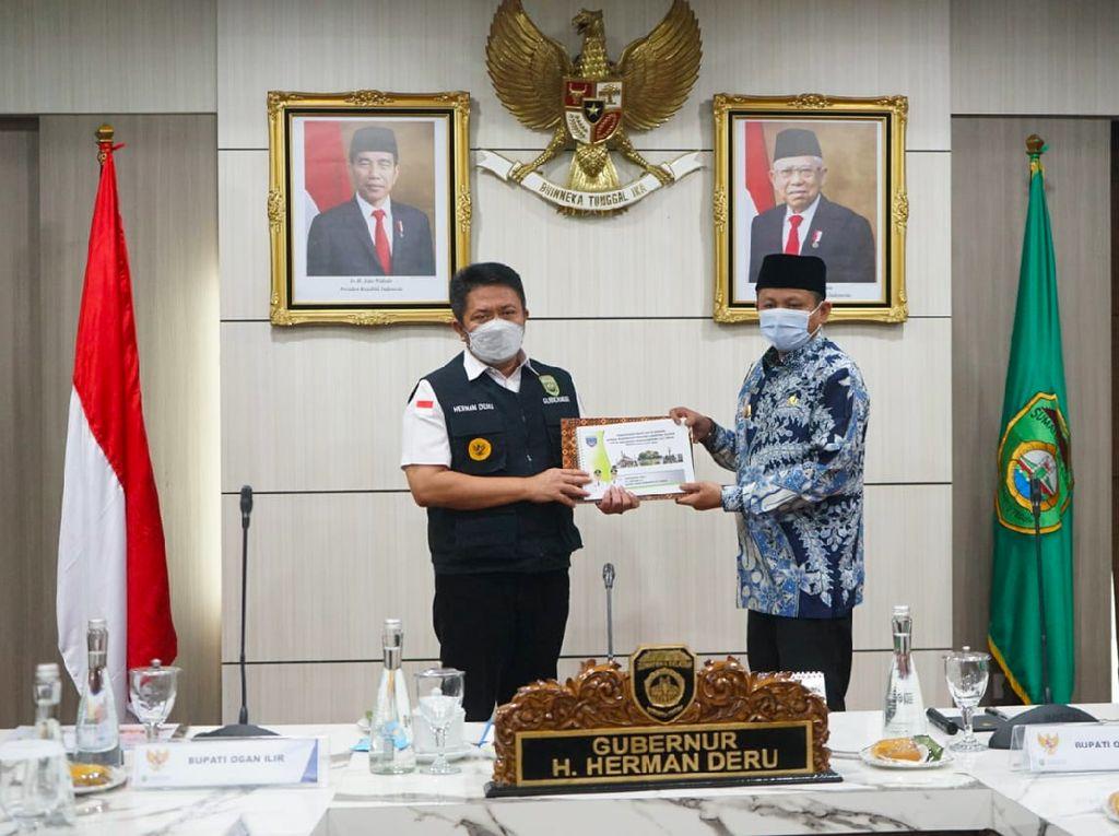 Herman Deru Minta Pimpinan Daerah di Sumsel Serius Garap Pembangunan