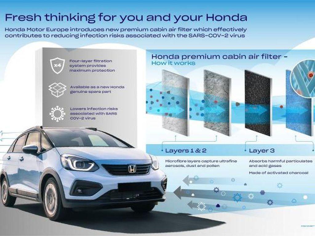 Honda Punya Filter Kabin yang Bisa Cegah Virus Corona