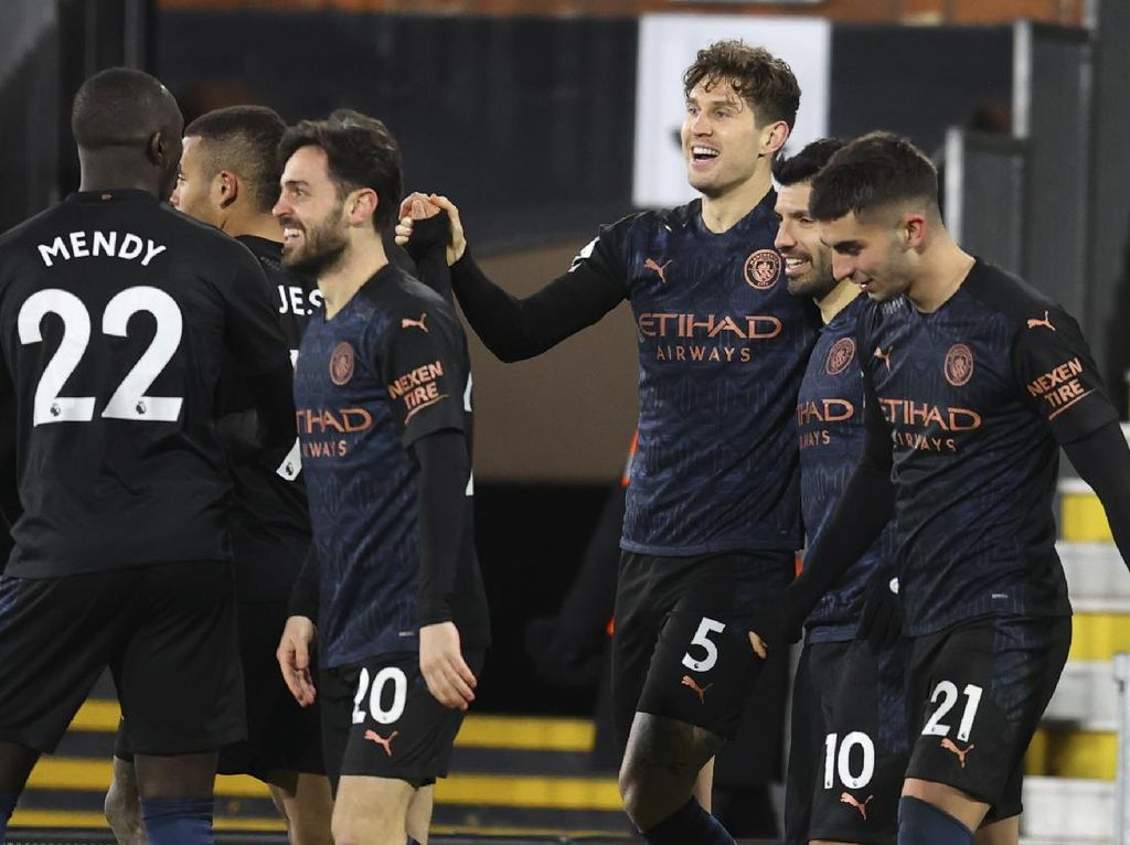 Fulham Vs Manchester City: The Citizens Menang 3-0