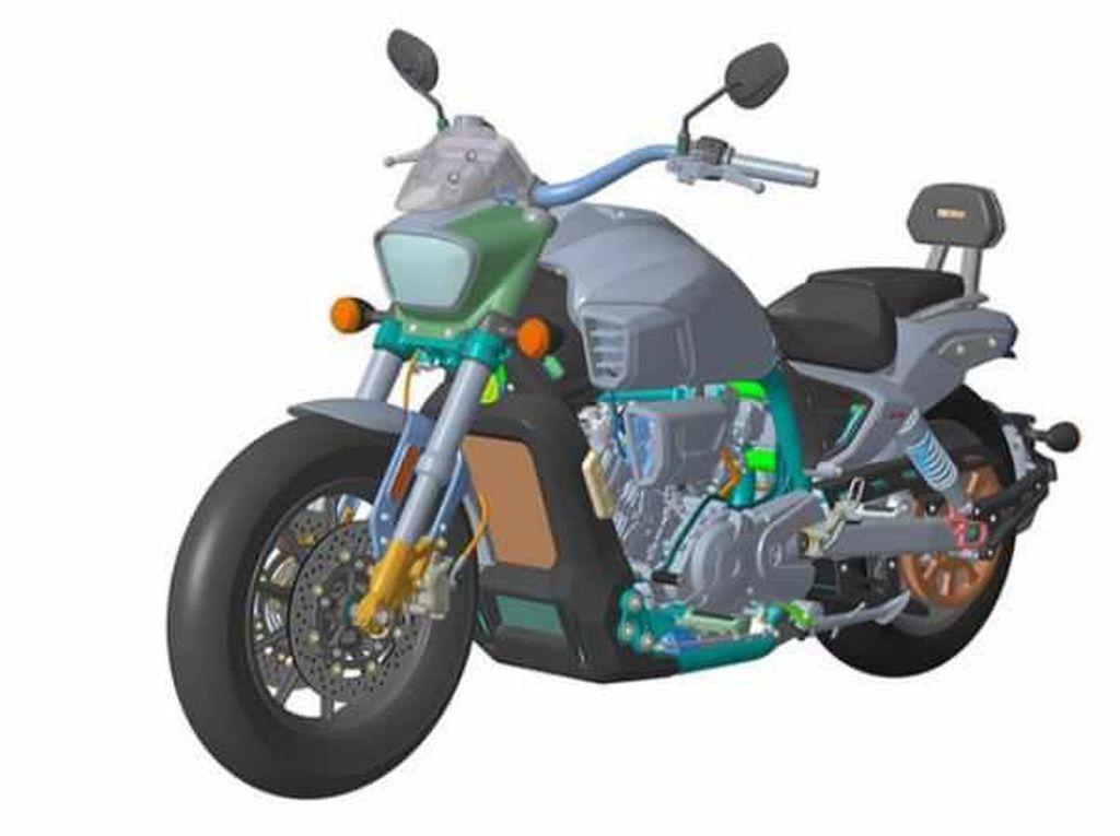 Bukan Ducati atau Harley, Ini Calon Moge Cruiser 650cc Buatan China