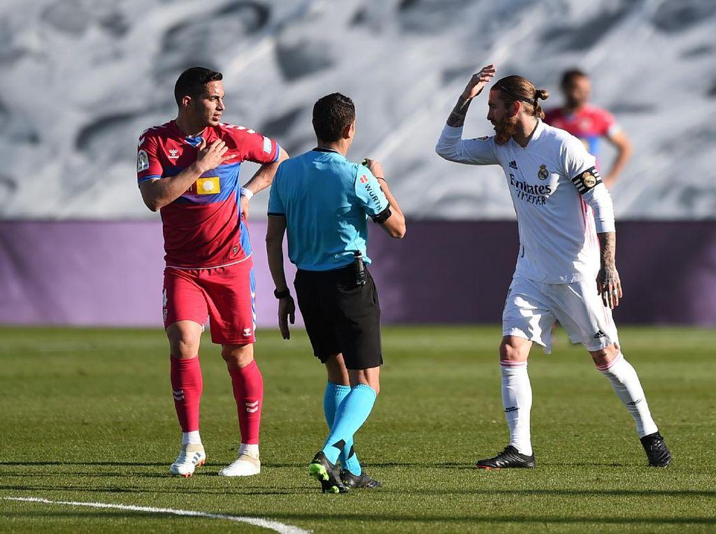 Madrid Vs Elche: Ramos Geram Tak Dapat Hadiah Penalti