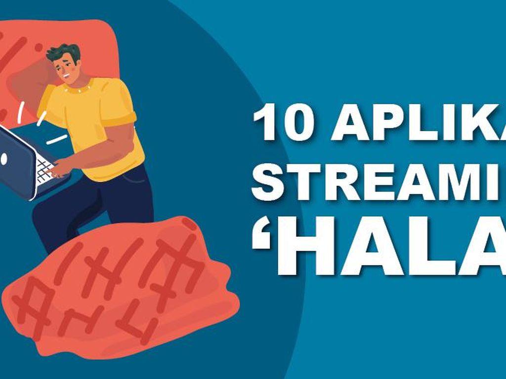 Daftar 10 Aplikasi Streaming Halal