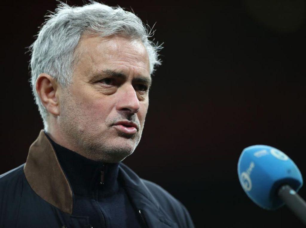 Respons Mourinho soal Peluang Piala Liga Inggris Dihadiri Penonton