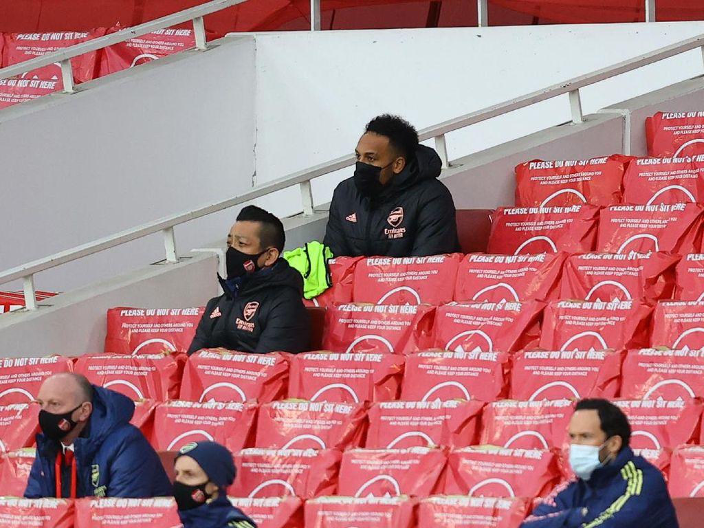 Terungkap! Alasan Aubameyang Dicadangkan Lawan Tottenham