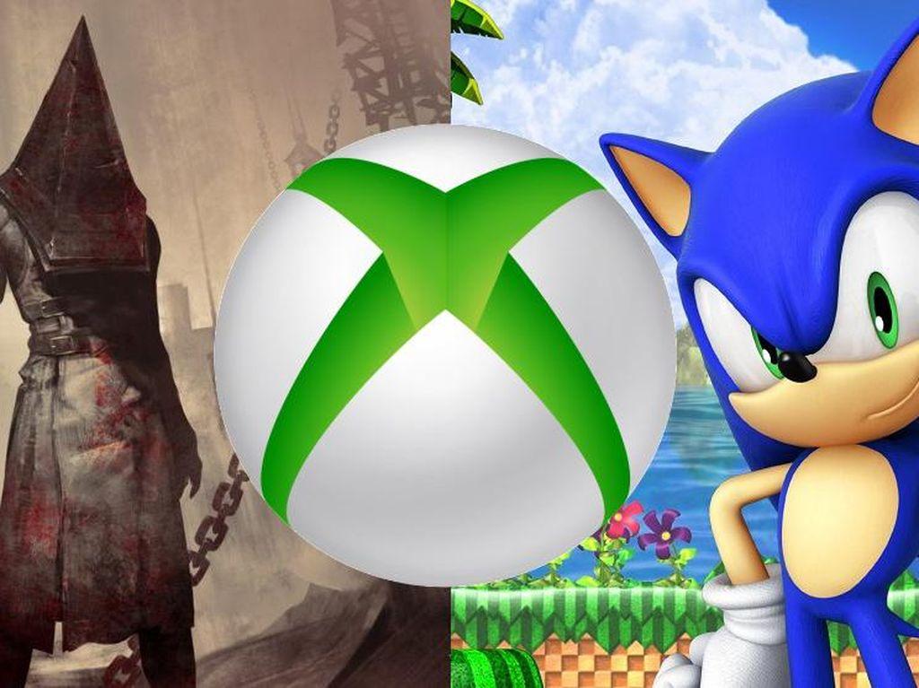 Microsoft Bakal Akuisisi Konami dan Sega?