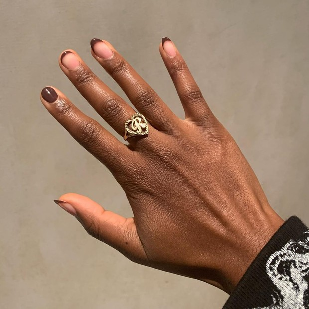 Brown Nail Trend