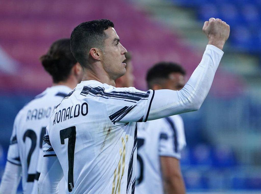 Cagliari Vs Juventus: Ronaldo Hat-trick, Nyonya Tua Menang 3-1