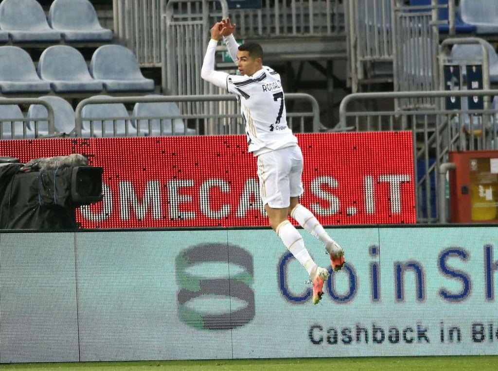 Dengan Rendah Hati, Ronaldo Kukuhkan Rekor Golnya Lewati Pele