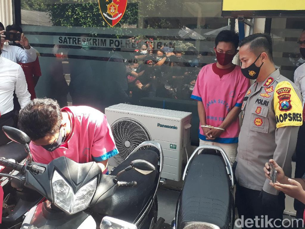 2 Residivis Curanmor di Tuban Ditangkap Usai Curi Motor Guru Ngaji
