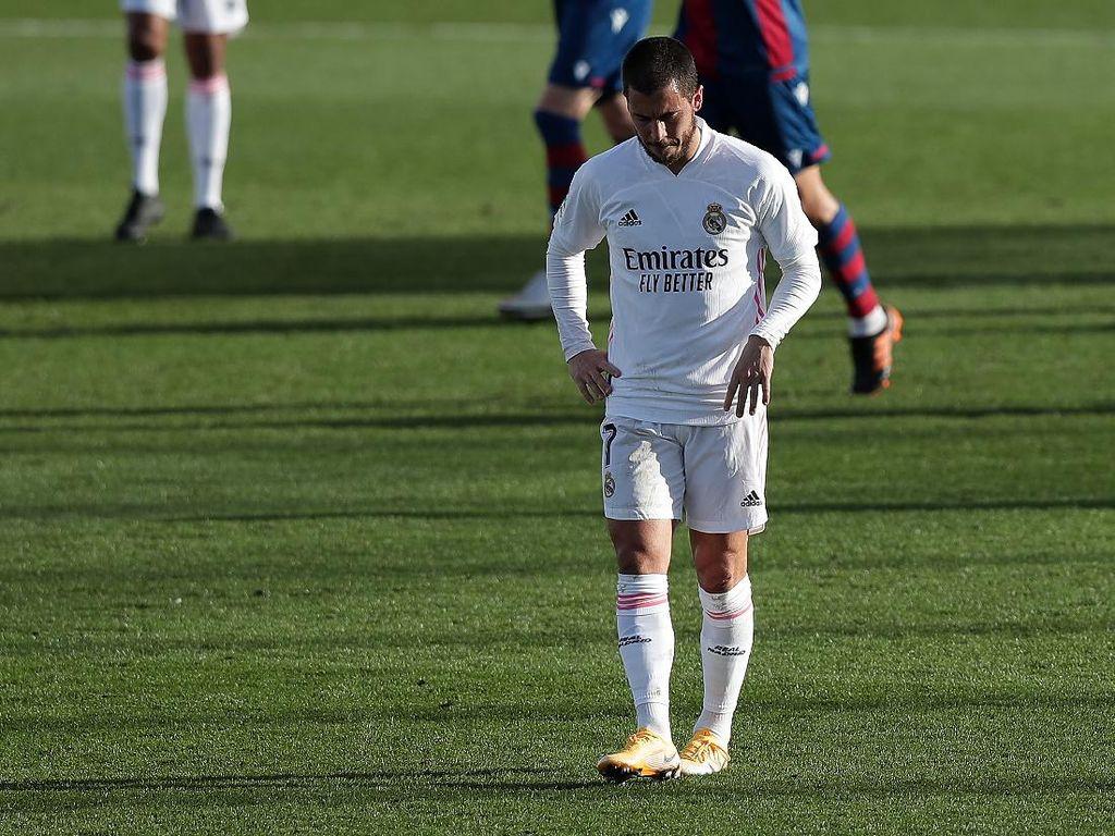 Duh, Eden Hazard Cedera Lagi Usai Comeback