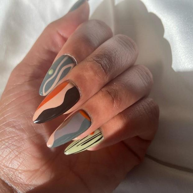 Geometrics Nail Trend