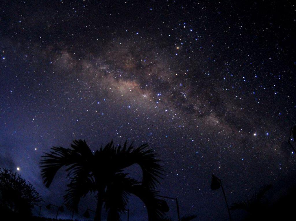 Potret Gugusan Bima Sakti di Langit Bali Saat Nyepi