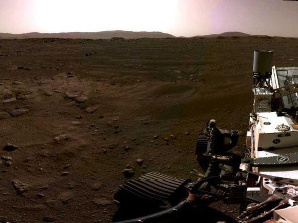 Inilah Video dari NASA yang Merekam Suara Angin dan Lainnya dari Planet Mars