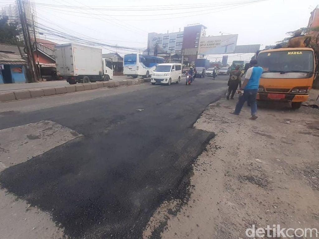 2 Kali Diperbaiki, Jl Industri Bekasi Kini Terlihat Rapi