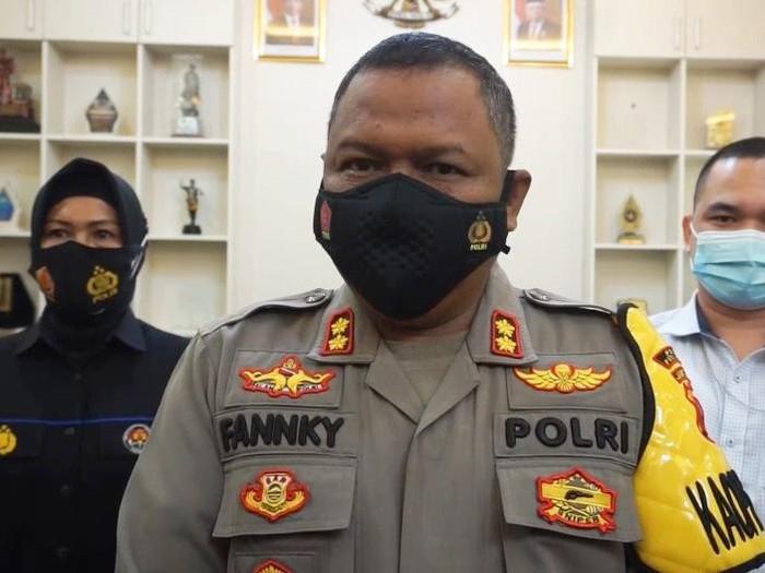 Kapolres Purbalingga AKBP Fannky Ani Sugiharto, Senin  (15/3/2021).