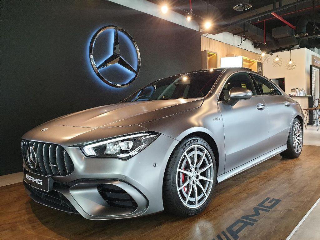 Spesifikasi Mercedes-AMG CLA 45 S 4Matic+ Coupe, Mobil Sport Rp 1,4 Miliar