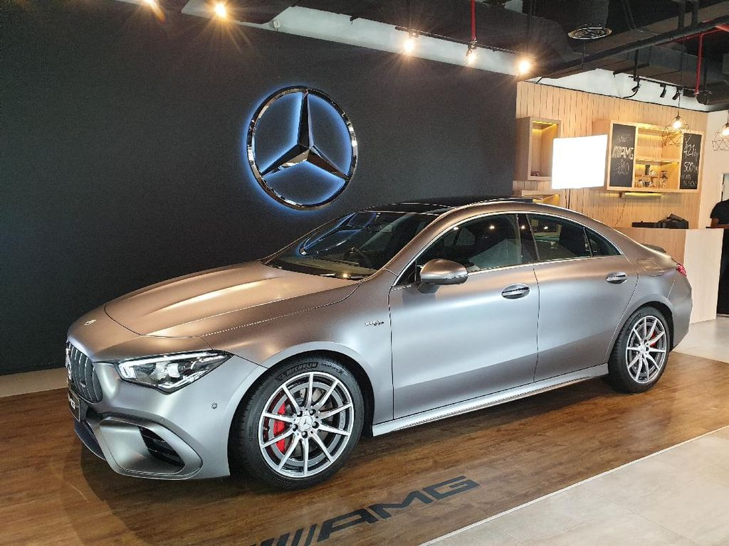 Mercedes-AMG CLA 45 S Resmi Dijual di Indonesia Rp 1,4 M