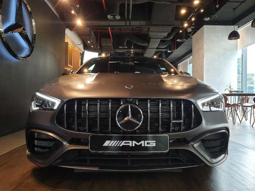 Lihat Lebih Dekat Mercedes-AMG CLA 45 S, Mobil Sport Seharga Rp 1,4 M