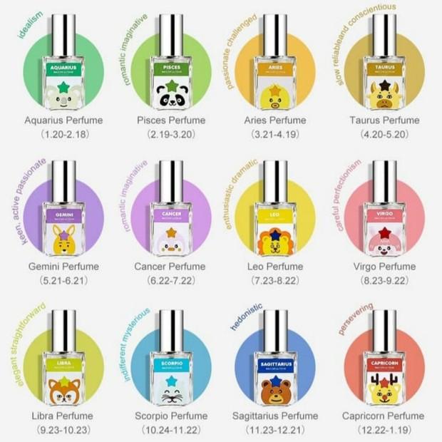 Miniso Zodiak Parfum/tokopedia.com/miniso-official