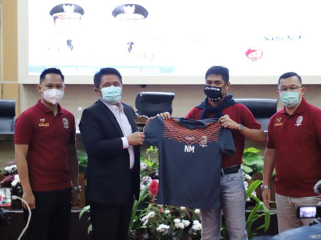 Sriwijaya FC Resmi Dilatih Nilmaizar, Ini Kata Pemprov Sumsel