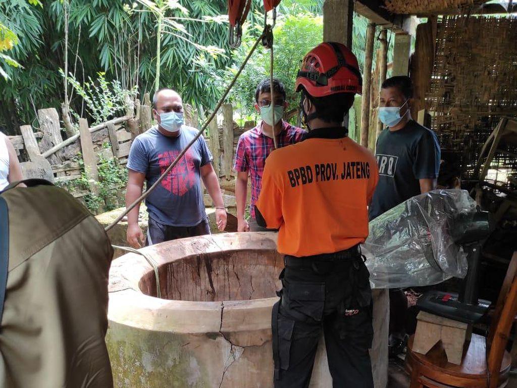 Seorang Pria di Jepara Diduga Nekat Ceburkan Diri ke Sumur