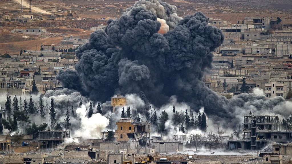Potret Satu Dekade Perang Suriah