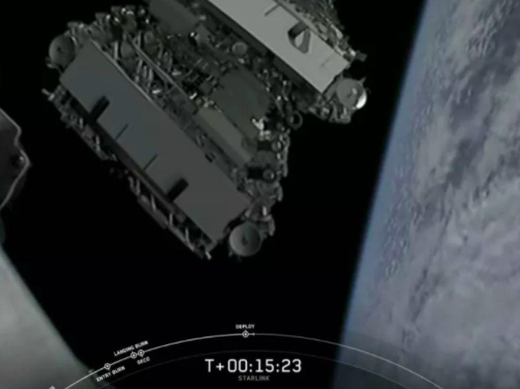 Kominfo Kaji Operasional Satelit Starlink Punya SpaceX di Indonesia