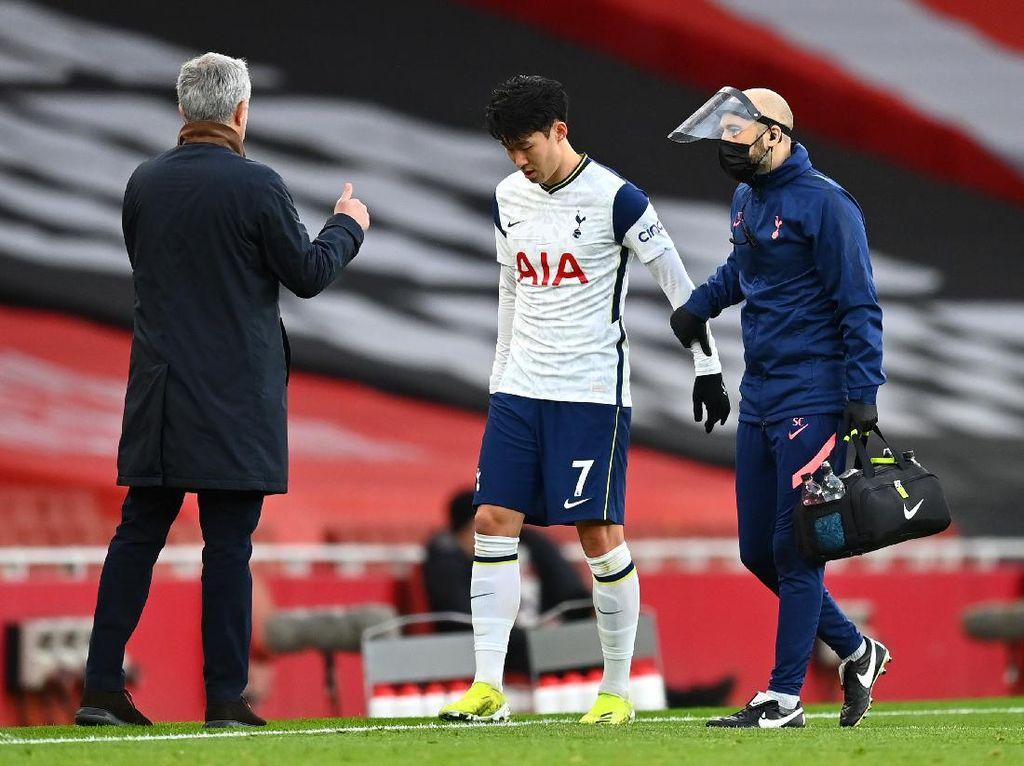 Tottenham Kalah, Son Cedera