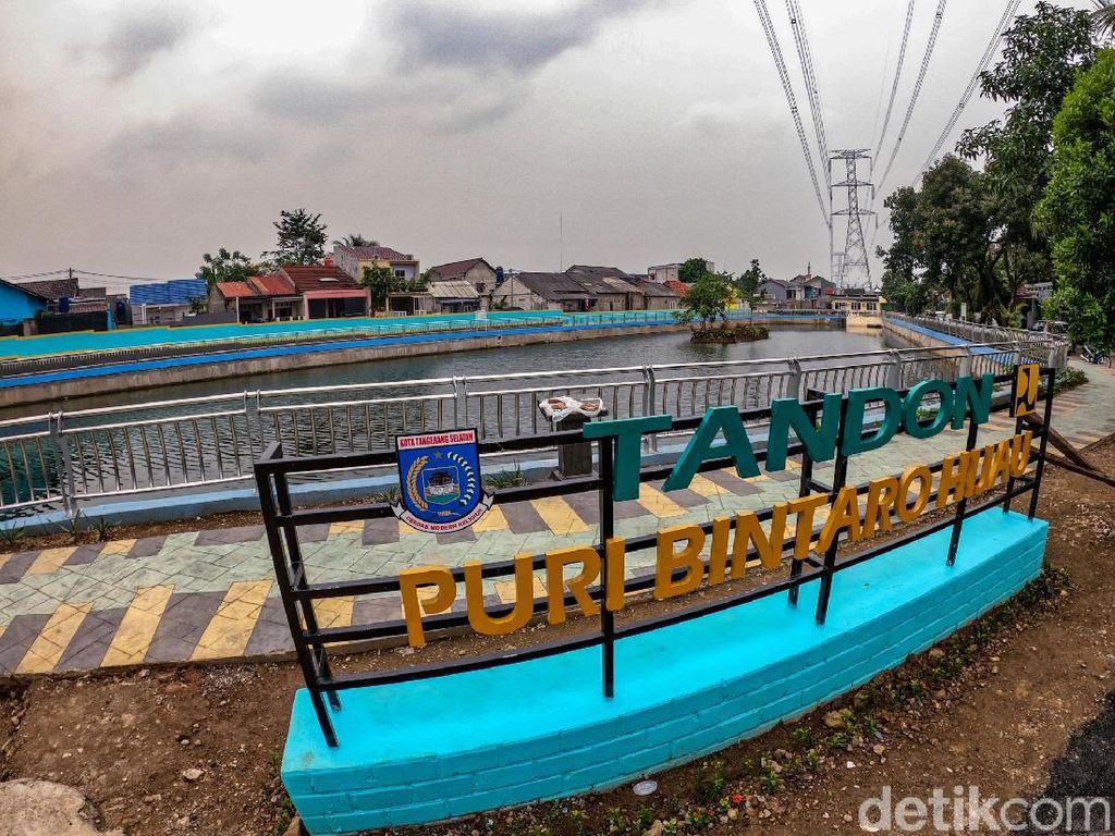 Antisipasi Banjir, Tandon Puri Bintaro Hijau Dibangun