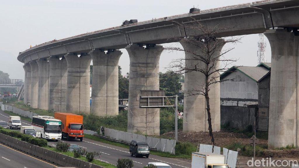 Terkini! Progres Pembangunan Kereta Cepat di Kawasan Cigondewah