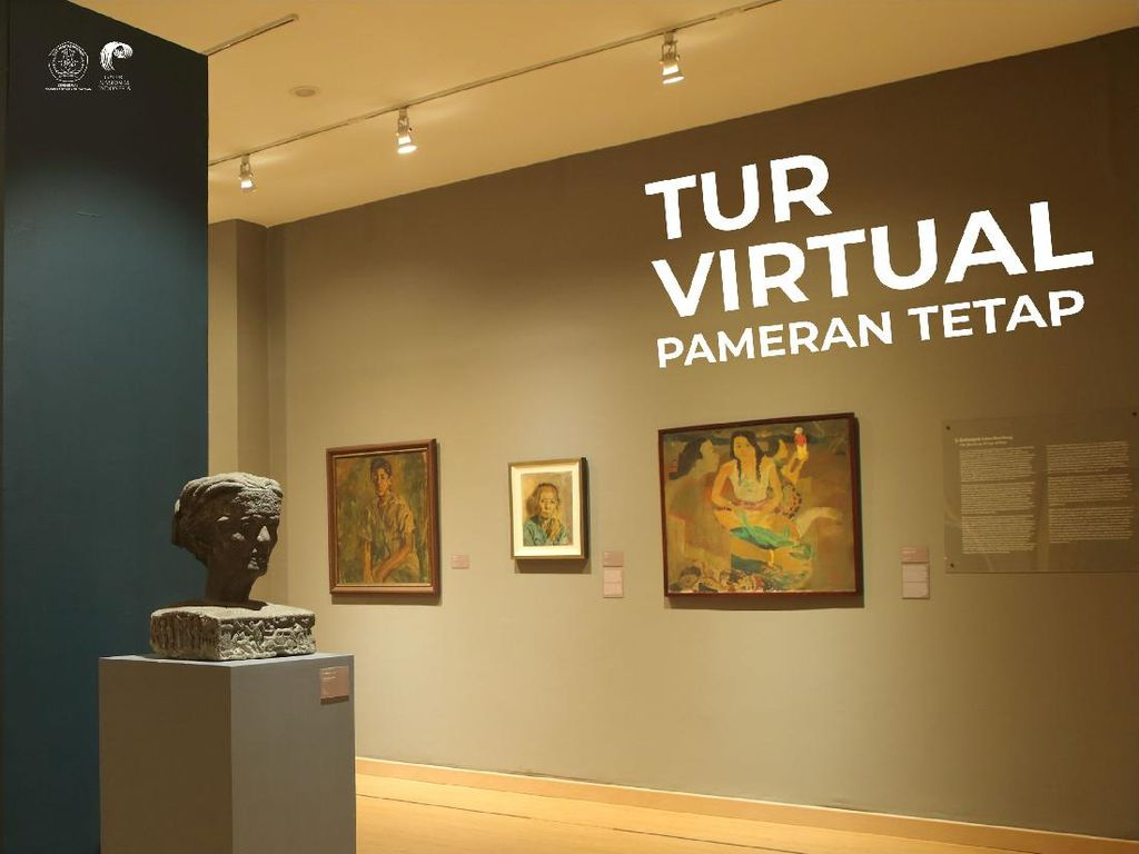 Mengeksplorasi Koleksi Galeri Nasional Indonesia Secara Virtual