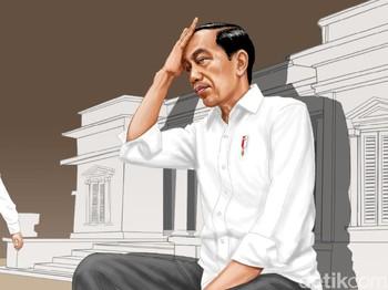 Diam Jokowi di Tengah Gerakan Klandestin Moeldoko