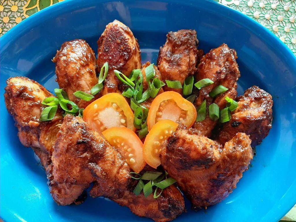 Resep Pembaca : Ayam Panggang Bumbu Rujak yang Sedap Mantap