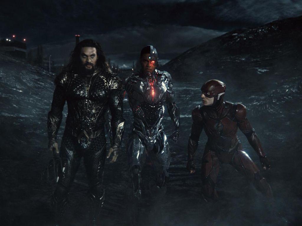 Zack Snyder Bongkar Adegan Terbaiknya di Justice League