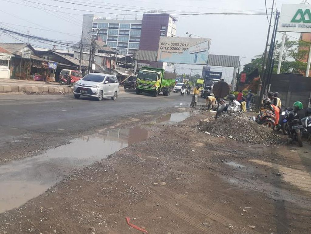 Jl Raya Industri Bekasi Sudah Bebas Genangan Mengganggu Meski Hujan