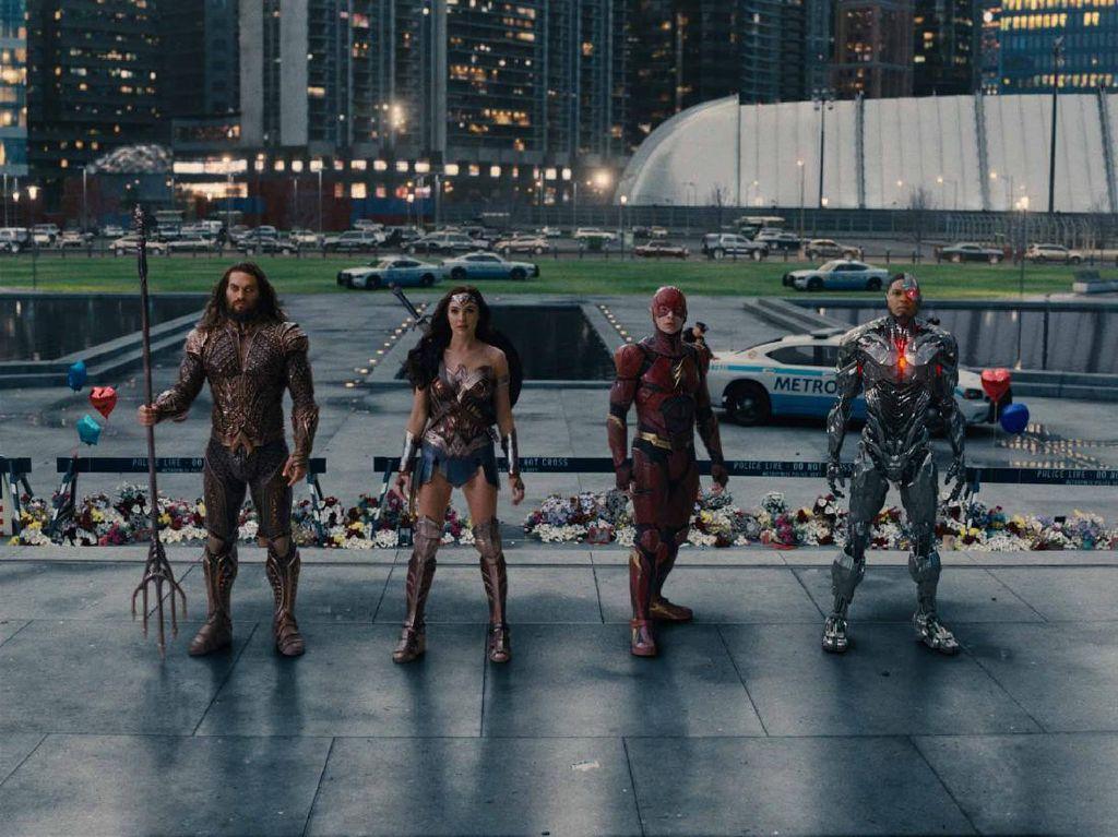 Justice League Snyder Cut Tawarkan Sensasi Berbeda