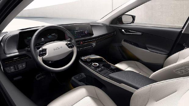 Mobil listrik Kia EV6.