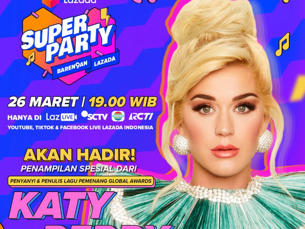 Katy Perry & NCT Dream Bakal Meriahkan Ultah Lazada Ke-9