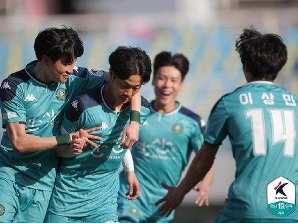 Tanpa Asnawi, Ansan Greeners Kalahkan Pemuncak Klasemen K League 2