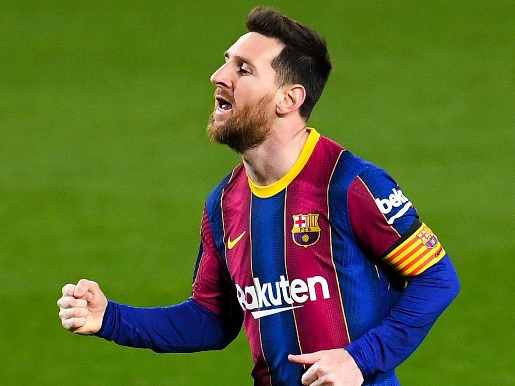 Top! Lionel Messi Samai Rekor Xavi di Barcelona