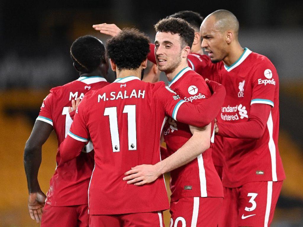 Gol Tunggal Diogo Jota Menangkan Liverpool