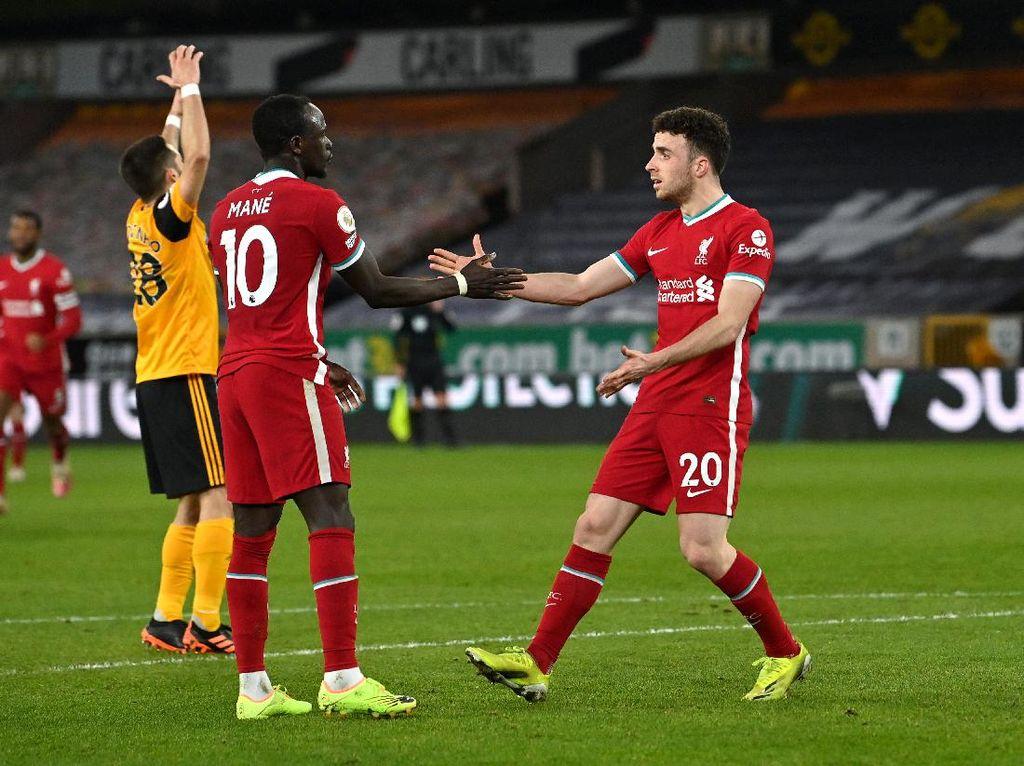 Liverpool Ungguli Wolverhampton 1-0 di Babak Pertama