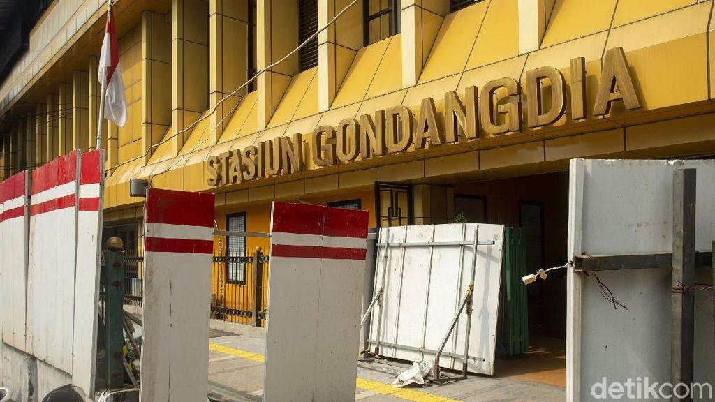 Menanti Hasil Penataan Stasiun Gondangdia Jadi Kawasan Terintegrasi