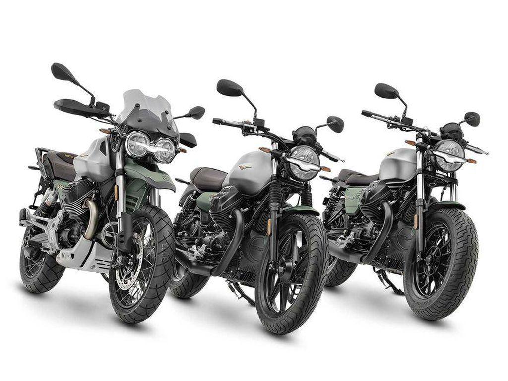 Rayakan Ultah yang ke-100, Moto Guzzi Luncurkan Livery Spesial