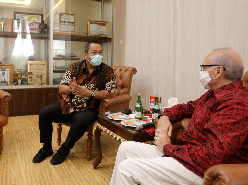 Prancis Jajaki Sejumlah Kerja Sama dengan Kota Semarang