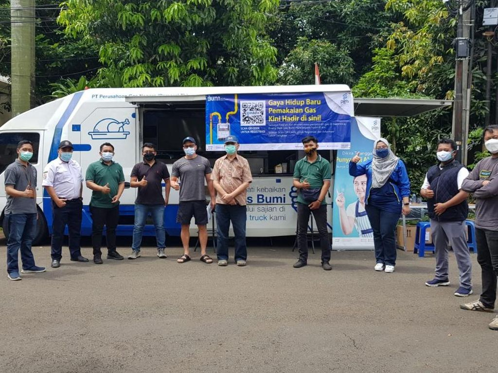 Lewat Food Truck, PGAS Solution Sosialisasi Penggunaan GasKita