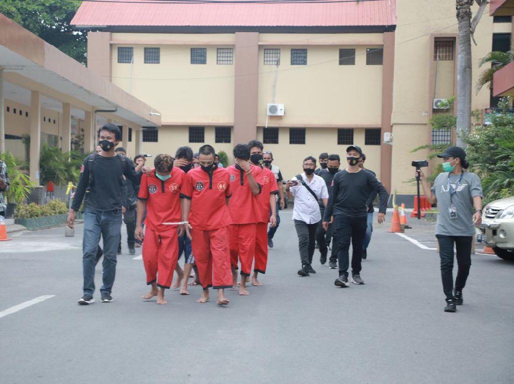 Dalam 2 Pekan, 385 Pelaku Kejahatan di NTB Ditangkap