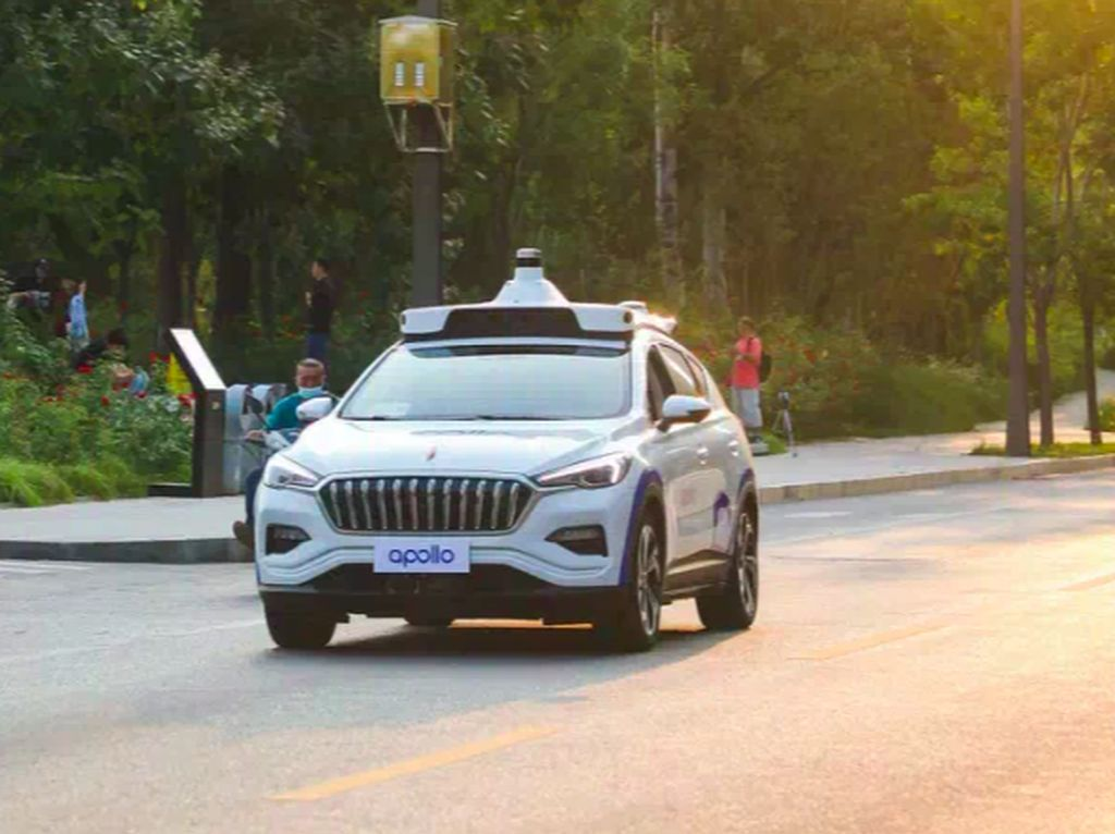 Taksi Tanpa Sopir Baidu Dapat Izin Mengaspal