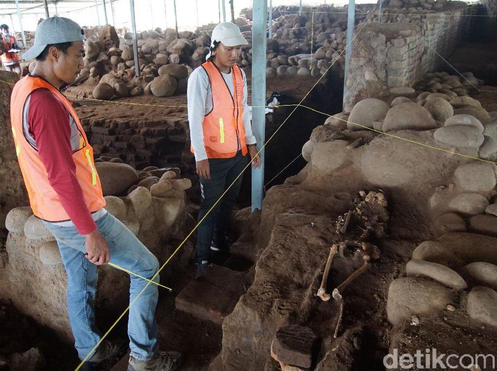 Sampel Kerangka 3 Wanita di Situs Kumitir Dikirim ke Australia