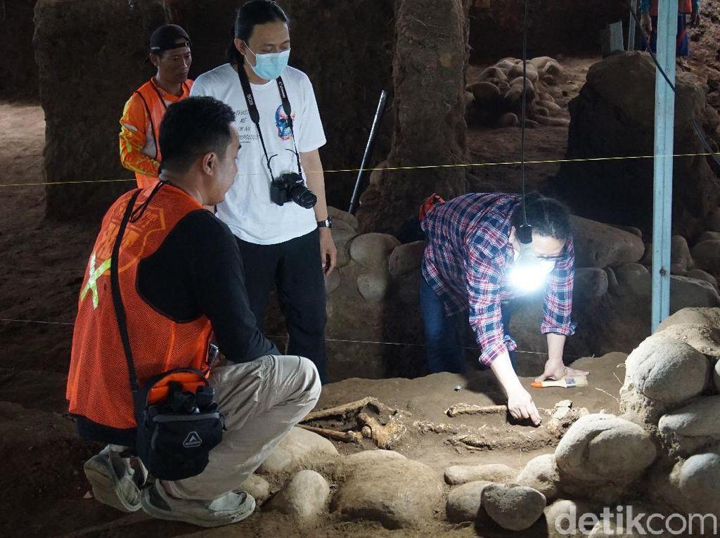 3 Kerangka Manusia di Situs Kumitir Perempuan, 1 Terkubur Tak Wajar